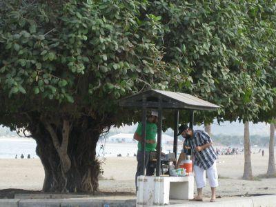 Fujairah: Strandpicknick