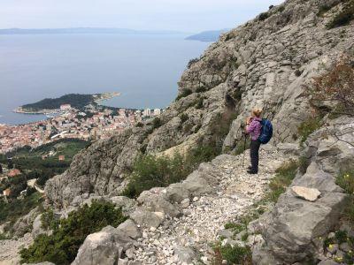 Aufstieg auf den Sveti Jure