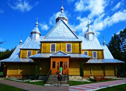 Holzkirche Verkhoyna