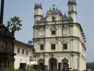 Old Goa - Kirche