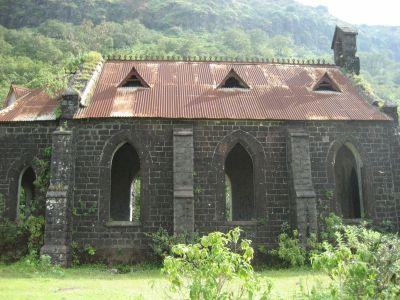 Kirche am Purandar Fort