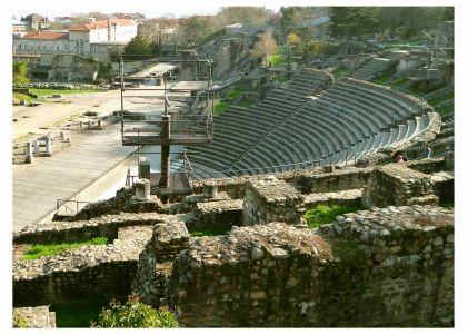 Amphitheater: Parc archéologique de Fourviére