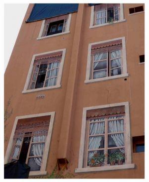 Im Viertel Croix-Rousse: Auch diese Fenster sind gemalt