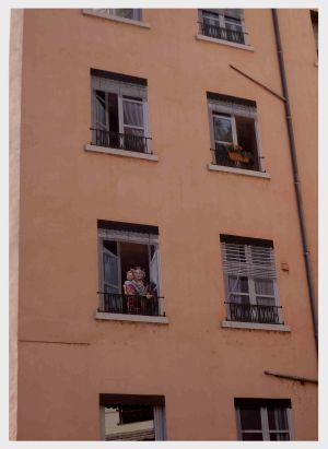 Rue de la Martinière: Die Fenster sind nicht echt!
