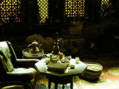 Miniaturmuseum: Darstellung eines Kalifenpalastes