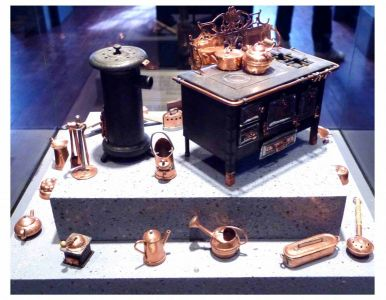 Miniaturmuseum: Haushaltsgegenstände