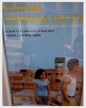 Hinweis auf ein internationales Filmfestival