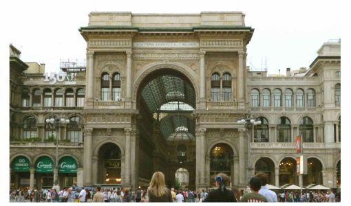Milano_Galleria Vittoria Emanuele