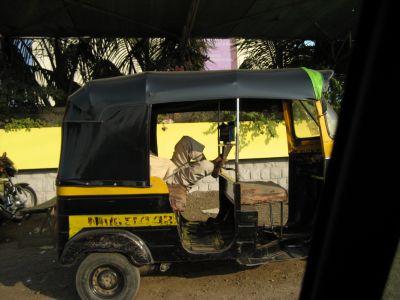 Aurangabad: Tuktuk-Fahrer
