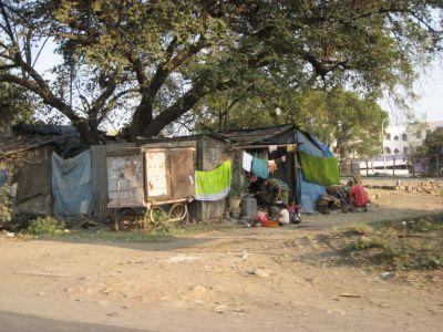 Aurangabad: Hütten der Armen