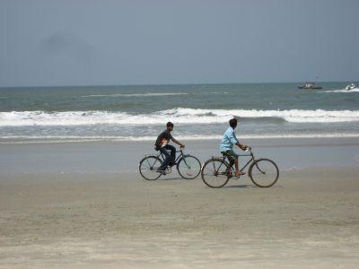 Goa: Am Strand