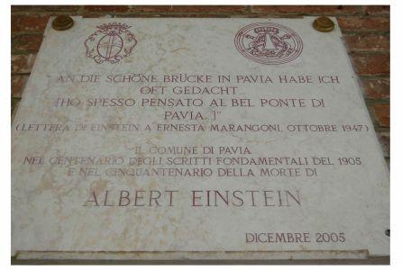 Pavia Albert Einstein