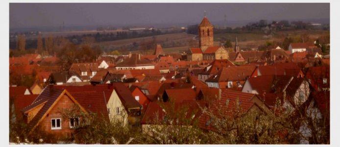 Rosheim: Blick auf den mittelalterlichen Stadtkern