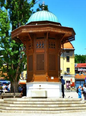 Sebilj-Brunnen