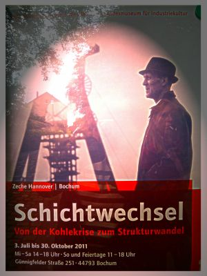 Schichtwechsel_Zeche Hannover
