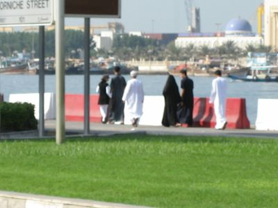 Sharjah: Freitagsspaziergang am Golf