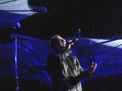 U2-Konzert: Singing in the Rain