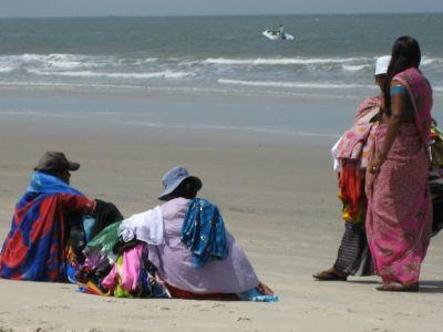Strandverkauf