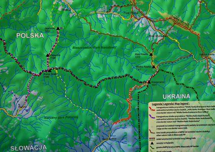 Länderdreieck Ukraine-Slowakei-Polen