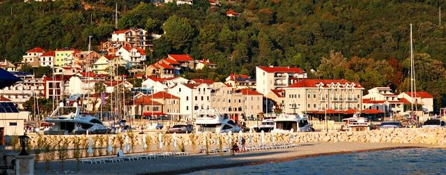 Bootsfahrt durch die Bucht von Kotor