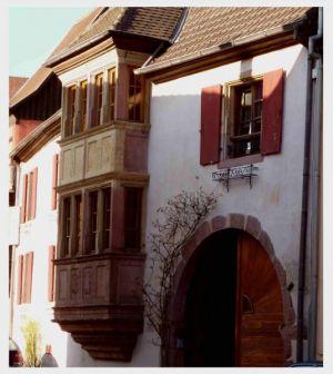 Turckheim: Erker und Fachwerk