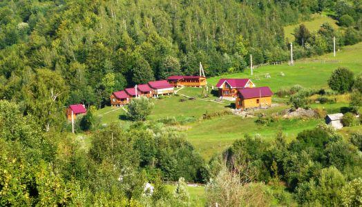 Feriensiedlung bei Kolotschawa