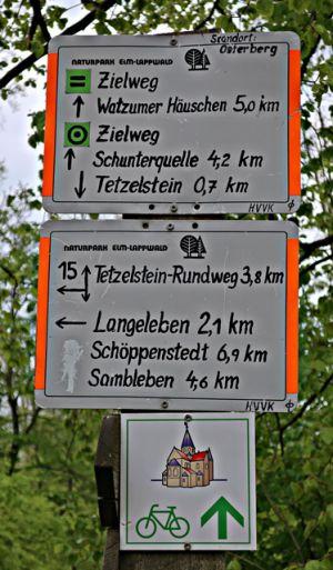 Wegweiser am Hagenweg