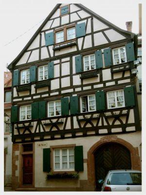 Wissembourg: Mittelalterliches Ortsbild
