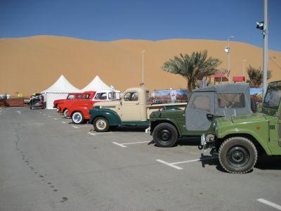 Liwa Wüstenmotorshow
