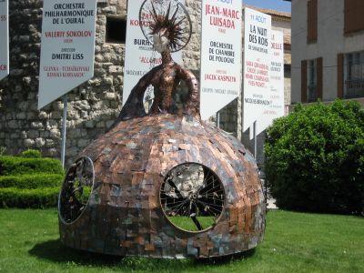 Sisteron_kunst