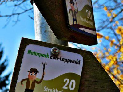 (Deutsch) Corona-Tagebuch: Großer Streitholz-Rundweg im Lappwald