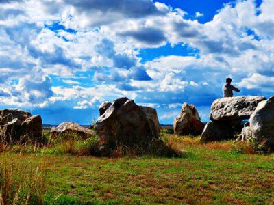 Corona diary: Helmstedt's Stonehenge